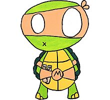 Kid Michelangelo Photographic Print