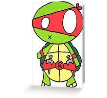 Kid Raphael Greeting Card