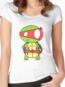 Kid Raphael Women's Fitted Scoop T-Shirt