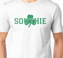 Southie (green on white) Unisex T-Shirt