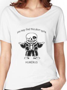 Undertale Sans Humerus Shirt Women's Relaxed Fit T-Shirt