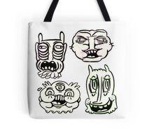 Ugly Buddies Tote Bag