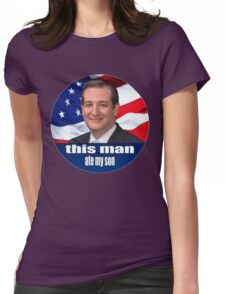 Ted Cruz is a monster 2016 Womens Fitted T-Shirt