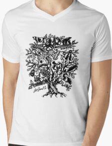 Art Tree Mens V-Neck T-Shirt