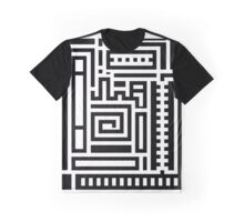 Right Angled Squiggles Graphic T-Shirt
