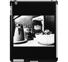 Breakfast At Spor's in Black and White iPad Case/Skin