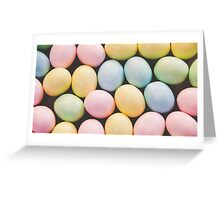 Easter Eggs 4 Greeting Card