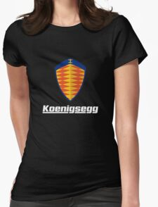 koenigsegg retro Womens Fitted T-Shirt