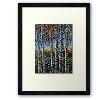 Rocky Mountain High (Palette Knife) by Lena Owens/OLena Art Framed Print