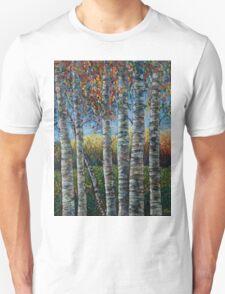 Rocky Mountain High (Palette Knife) by Lena Owens/OLena Art Unisex T-Shirt