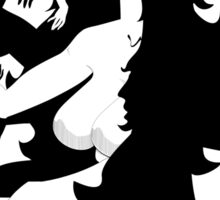 Fantasma Cabellera Sticker