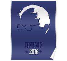 Bernie Sanders 2016 Blue Poster
