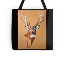 White-tailed Deer Buck by Dennis Dalton Tote Bag
