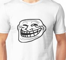 Troll Face Apparel  and Accesories  Unisex T-Shirt