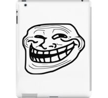 Troll Face Apparel  and Accesories  iPad Case/Skin