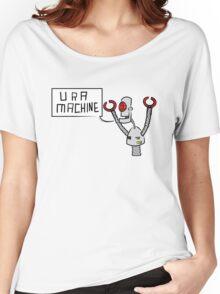 U R A MACHINE Women's Relaxed Fit T-Shirt