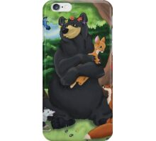 Mother Forest - Woodland Animals iPhone Case/Skin
