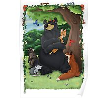 Mother Forest - Woodland Animals Poster
