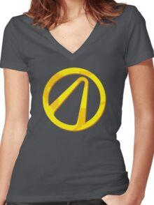Borderlands 2 Women's Fitted V-Neck T-Shirt