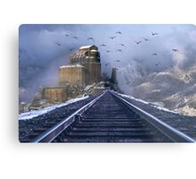 Train to Dwimorberg Metal Print