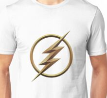 Flash logo no centre Unisex T-Shirt