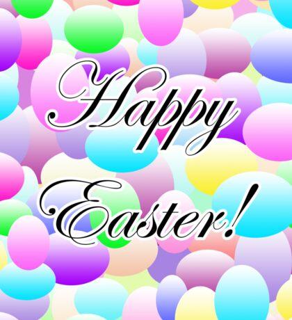 Happy Easter Light Sticker