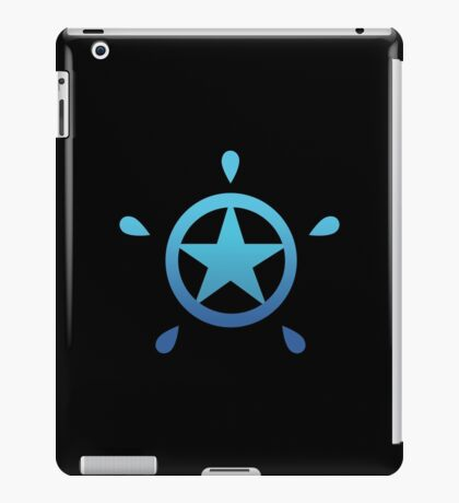 Blue Rock Star iPad Case/Skin