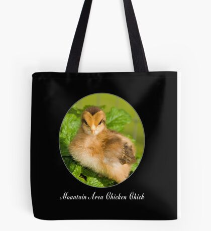 Mountain Area Chicken Chick Welsummer Tote Bag