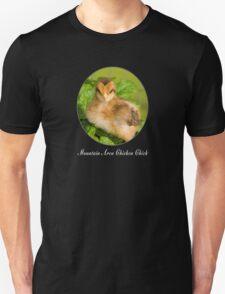 Mountain Area Chicken Chick Unisex T-Shirt