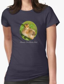 Mountain Area Chicken Chick Womens Fitted T-Shirt
