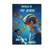 What If Art Print