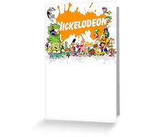 Ultimate Nickelodeon Nicktoons  Greeting Card
