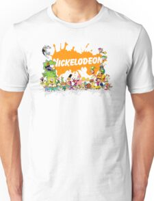 Ultimate Nickelodeon Nicktoons  Unisex T-Shirt