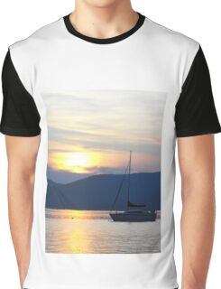 Dusk on the Lake Graphic T-Shirt