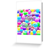 Happy Easter Dark Greeting Card