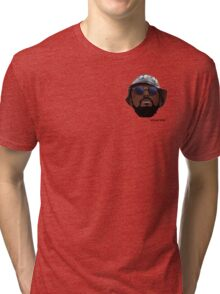 Schoolboy Q - RSHH Cartoon Tri-blend T-Shirt