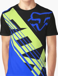 Savant Blue Black Graphic T-Shirt