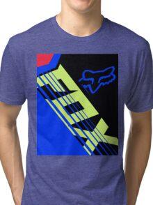 Savant Blue Black Tri-blend T-Shirt