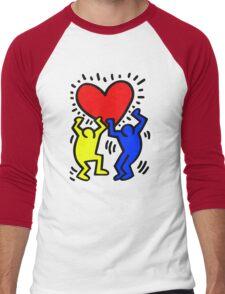 keith haring Men's Baseball ¾ T-Shirt