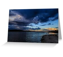 Bremer Bay Storm Clouds Greeting Card