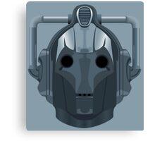 Doctor Who Cyberman Canvas Print