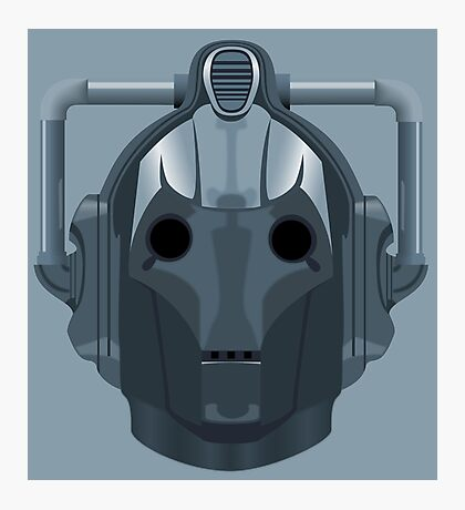 Doctor Who Cyberman Photographic Print