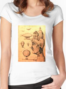 Port of Dreams Women's Fitted Scoop T-Shirt