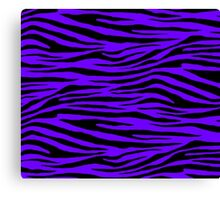 0243 Electric Indigo Tiger Canvas Print