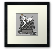 Zero Nightmare Before Snoopy Framed Print