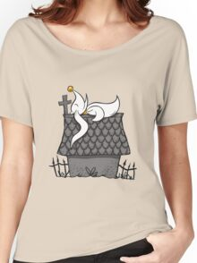 Zero Nightmare Before Snoopy Women's Relaxed Fit T-Shirt
