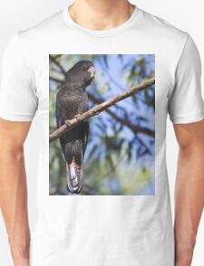 Red-Tailed Black Cockatoo Unisex T-Shirt