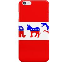 Three Party Future iPhone Case/Skin