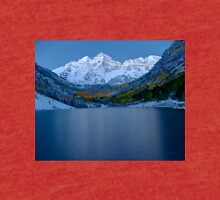 """Maroon Bells Early Morning"" by Lena Owens/OLena Art Tri-blend T-Shirt"