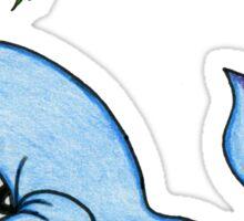 Happy Whale Sticker Sticker